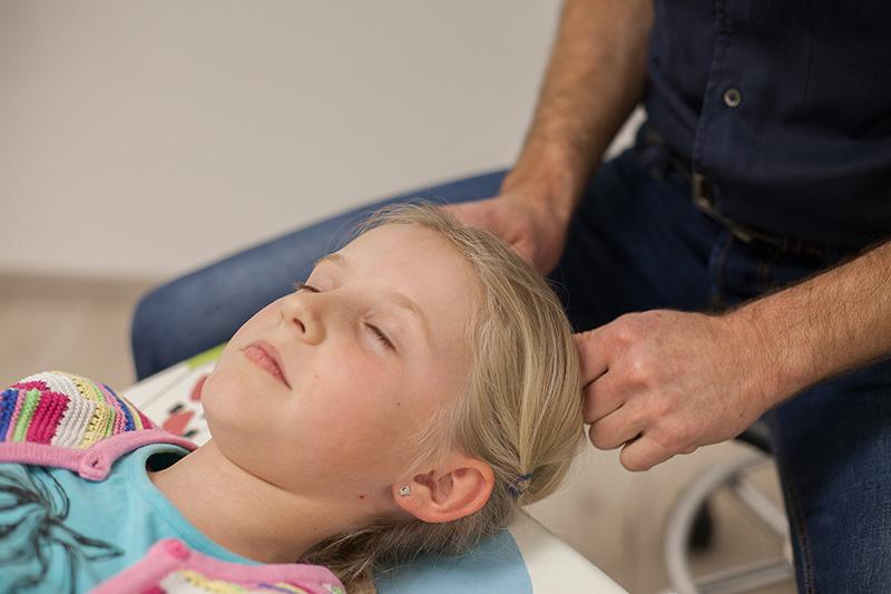 Chiropraktik bei Kindern
